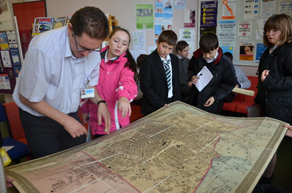 Sefton record office looking at old maps web