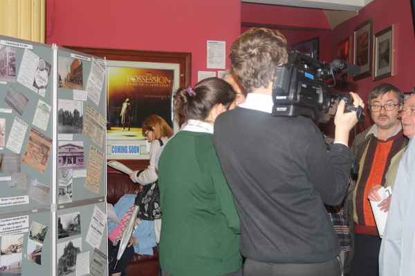 Young people filming cinema memories at launch web