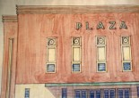 Photographs of architectural plans for some of  the local Picture Houses
