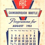 Front cover of Gainsborough Program 1953