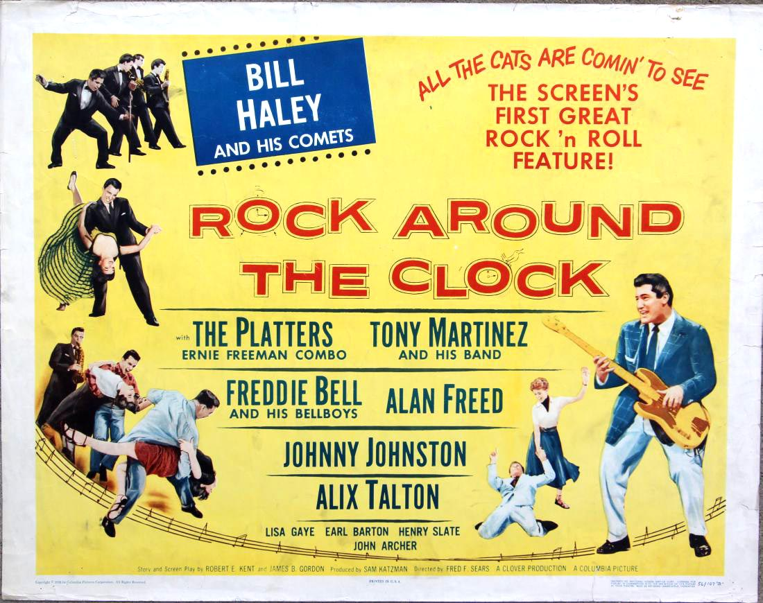 Rock around the clock going to the pictures