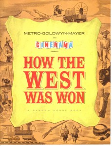 Souvenir Brochure How The West was Won web