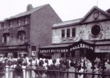 The original building of what was the Palladium Cinema in Seaforth still stands today and has been part of the community for 100 years, having several changes of use. It is currently used as a gymnasium.