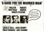 Flyer for the 'X' rated film 'A Guide for the Married Man'