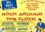 When the film 'Rock Around the Clock' was released in cinemas the music had people dancing in the aisles and many people were asked to leave the cinema.