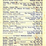 film listings for Gainsborough Bootle August1953