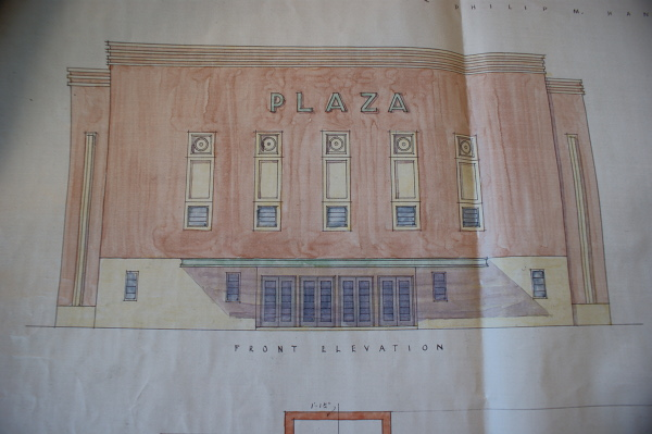 Architectural plans for the Plaza