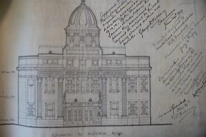 Architectural plans for the Stella Cinema Seaforth