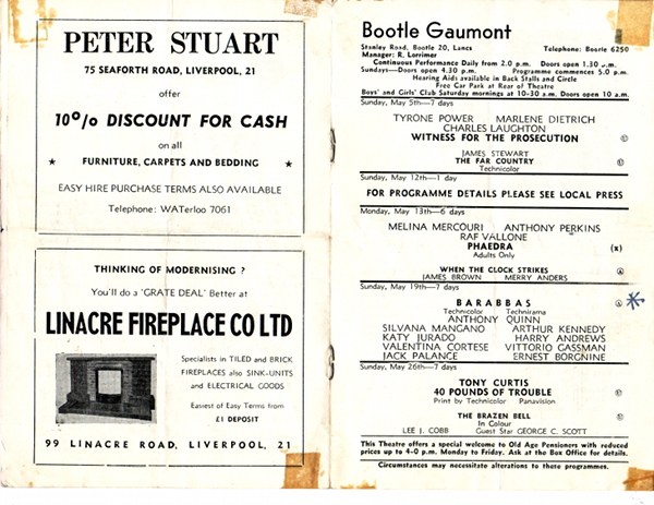 Gaumont May 1963 inside Prog web