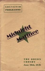 Midnight matinee souvenir prog 1946 web