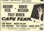 Flyer for the Boolte Gaumont Cinema which has been kept for over 50 years and scanned especially for the Going to the Pictures Project. The flyer from 1961 is advertising a future presentation of the film 'Cape Fear'