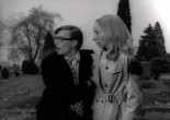 I remember watching 'The Night of the Living Dead' with my wife, who hid throughout the whole film.